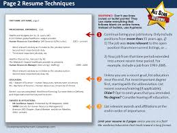 chapter 3 becoming a journalist how to set up your resume resume