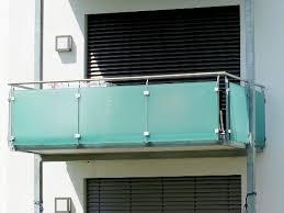 edelstahl balkon mit glas balkongeländer aus glas balkongeländer direkt