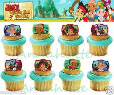 personalized cupcake toppers 30 jake and the neverland personalized cupcake toppers