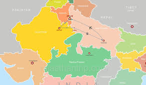 Varanasi India Map by Golden Triangle With Holy Ganges Tour Package