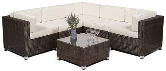 Savannah Outdoor Furniture by Savannah Rattan Corner Sofa Set Outdoor Garden Furniture Including