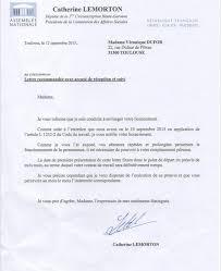 mail absence maladie bureau la présidente de la commission des affaires sociales de l