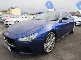 blue maserati ghibli used maserati ghibli saloon 3 0 4dr in swindon wiltshire s u0026 r