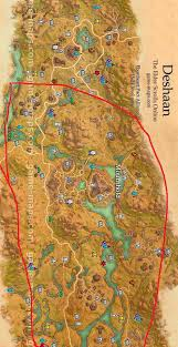 Eso Maps What Zone Is On This Map U2014 Elder Scrolls Online