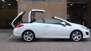 modellen peugeot peugeot 308 cc cabrio afstandsbediening cabriokap openen en