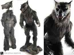 Werewolf Costume Underworld Lycan Costume Mannequin Tom Spina Designs Tom Spina