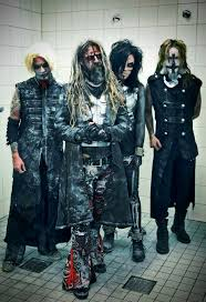 rob zombie and band including john 5