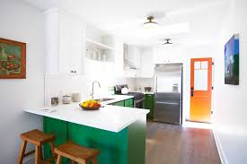 Green Apple Kitchen Accessories - los angeles green apple kitchen decor eclectic with peninsula