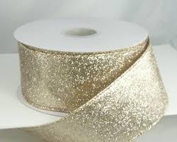 gold glitter ribbon christmas ribbon velvet and specialty