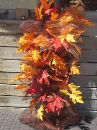 fall door decor fall teardrop fall door swag leaf door swag leaf