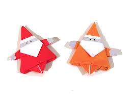 How To Make A Origami Santa - origami santa claus how to make an easy origami santa