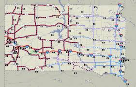 south dakota road map weather conditions deteriorate power outages local