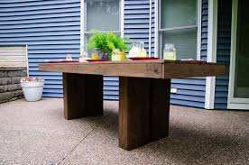 Diy Outdoor Patio Table Diy Outdoor Patio Table Tutorial Decor And The