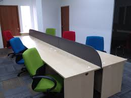 Office Table With Partition Working Table With Hanging Divider Partition Board A 2 Z Office