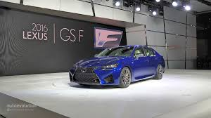 lexus f sport v8 lexus gs f brings the roaring v8 at the 2015 naias live photos