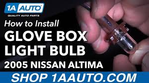 nissan altima 2005 options how to install replace glove box light bulb 2005 nissan altima