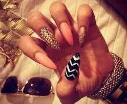 fingernail designs stiletto nails latest nail art trend