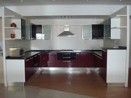 Design Of Modular Kitchen by Brilliant Indian Modular Kitchen Design U Shape Shaped On