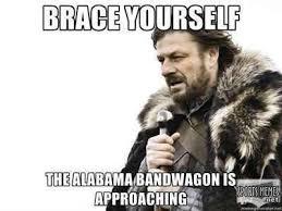 Alabama Football Memes - alabama bandwagon meme