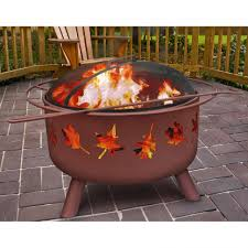 outdoor wonderful outdoor fire bin sears fire pit metal bonfire
