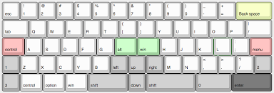 keyboard layout ansi introducing the katana60 a more ergonomic layout for 60 boards