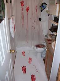 Blood Shower Curtain Halloween Shower Curtain And Rug
