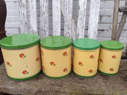 retro kitchen canisters set 123 best green canisters images on kitchen canisters