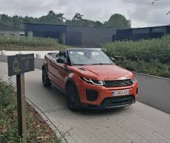 evoque land rover convertible range rover evoque convertible 2 0 td4 diesel a real wow