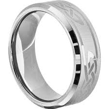 silver hand rings images Viking knotwork silver beveled celtic rings forever metals jpg