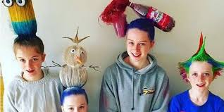 crazy hair ideas for 5 year olds boys crazy hair day ideas these parents take things to a whole new