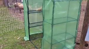 putting together a small greenhouse from tractor supply youtube