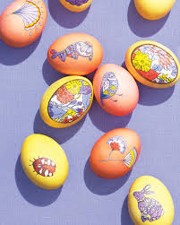 Easter Egg Decorations Decorating Easter Eggs Martha Stewart