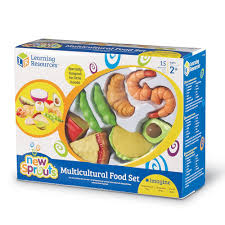 amazon com learning resources new sprouts multicultural food set