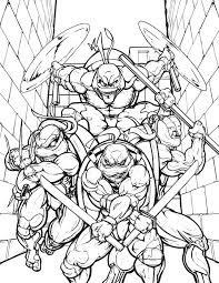 ninja turtles coloring pages free printable cute coloring
