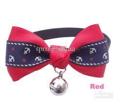 2018 pet collars new bow tie cat bow tie pet headdress collar