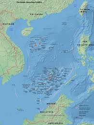 Map Of South China Sea Pr China The South China Sea Conflict Www Chinaknowledge De