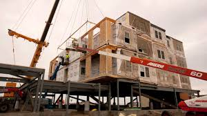 modular apartment building in williston nd timelapse youtube