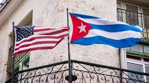 Cuba Flag State Department Pulls Employees Out Of Cuba Cnn Video
