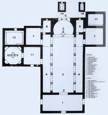 basilica floor plan the village of povlja island of brač in croatia