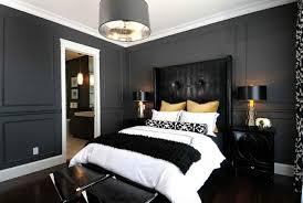 schwarzes schlafzimmer kühne schlafzimmer farben ideen mit schwarz weißen akzenten