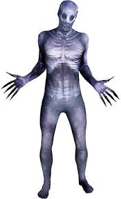 Slender Man Halloween Costumes Morphsuits Men Morph Suits Party