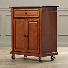 cherry kitchen island cart kitchen island cart on wheels with granite top