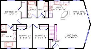 two bedroom cabin floor plans cottage