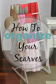 inspiring how to organize scarves 76 with additional decoration