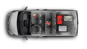 renault grand scenic luggage capacity features trafic passenger vans renault uk