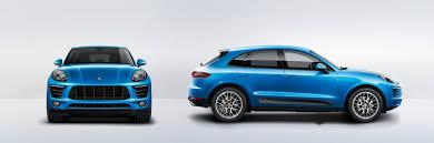 Porsche Macan Blue - porsche macan s technical specs porsche usa