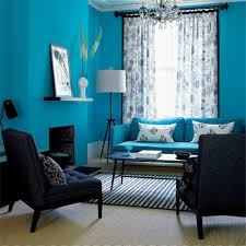 creative blue paint colors for living room design decor color