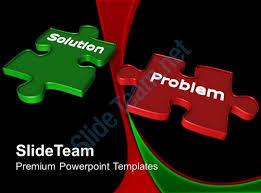 powerpoint puzzle pieces template templates solution problem