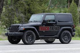 jeep wrangler pickup spotted testing jl wrangler mule spotted with manual transmission