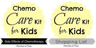 service project for kids chemo care kit for kids pennies of